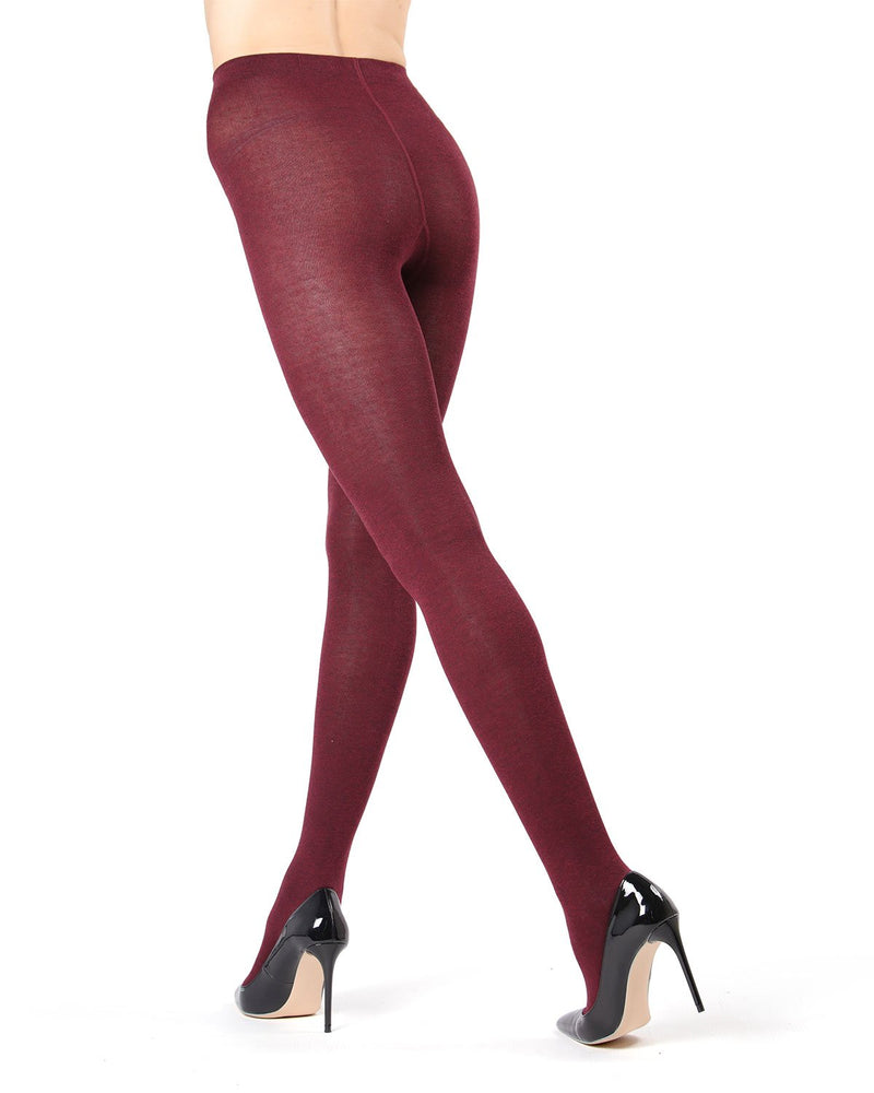 MeMoi Cabernet (2) Brooklyn Basic Sweater Tights | Women's Hosiery - Pantyhose - Nylons
