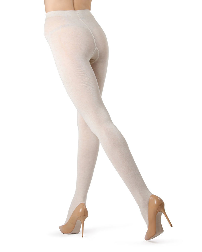 MeMoi  Oatmeal (2) Brooklyn Basic Sweater Tights | Women's Hosiery - Pantyhose - Nylons