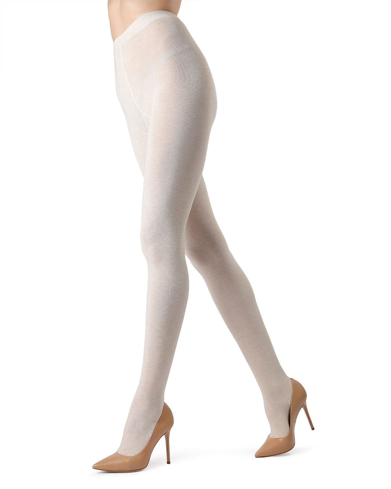MeMoi  Oatmeal Brooklyn Basic Sweater Tights | Women's Hosiery - Pantyhose - Nylons