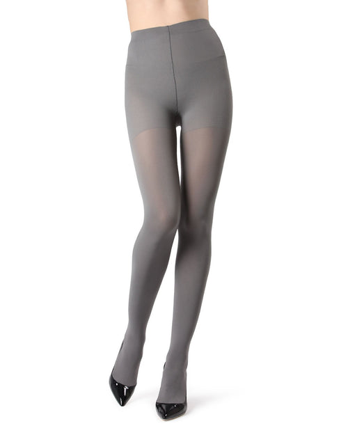 Completely Opaque Control Top Tights - 80 Denier
