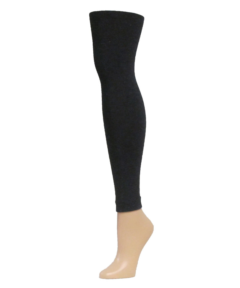 Shiny Sweater Footless Tights - MeMoi