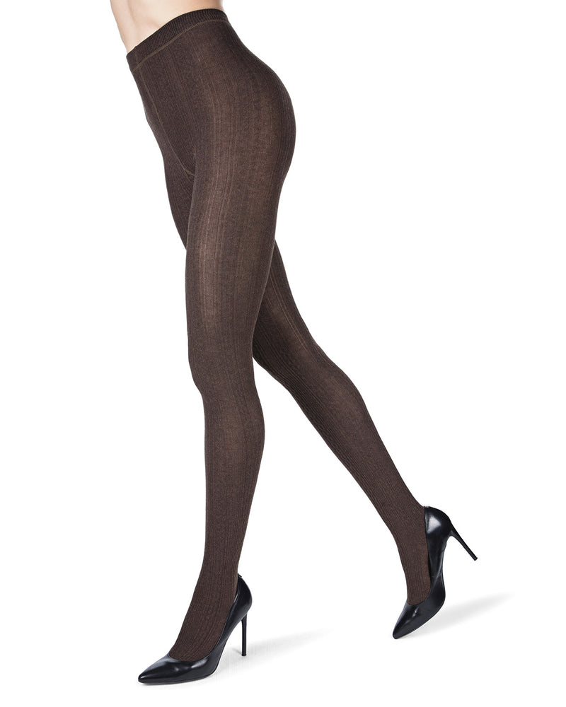 Toronto Cable Sweater Tights