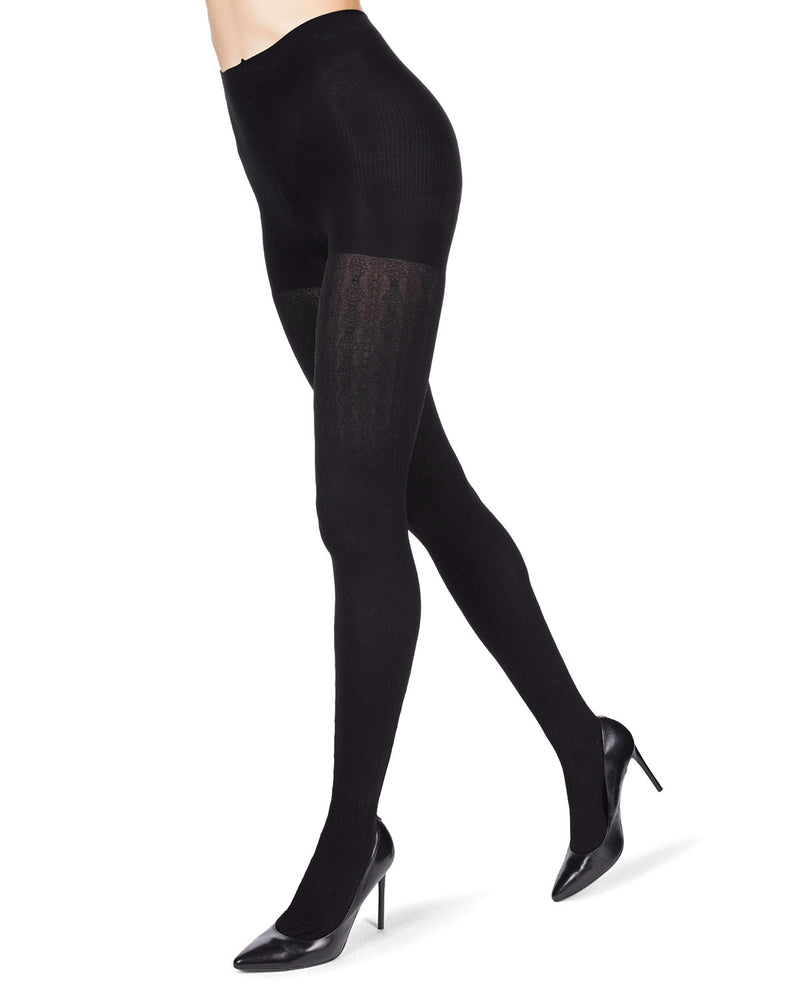 FirmFit Diamonds Link Control Top Tights