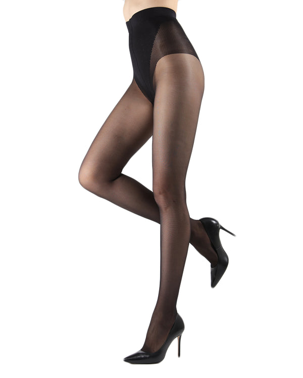 Levante Model Top Women's Shaping Tights | Shaping Tights by Levante | MODEL TOP 40  | Nero