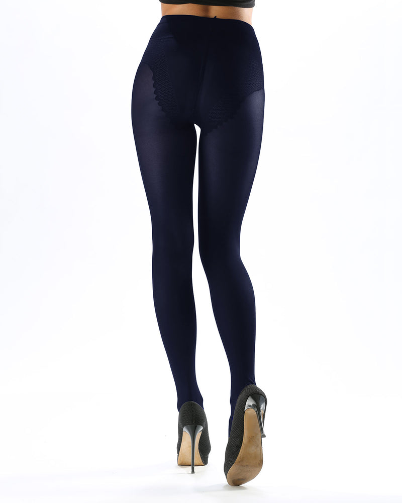 Model Top Women's Control Top Opaque Tights | Shaping Tights by Levante | MODEL TOP 70 | Blumarine 1