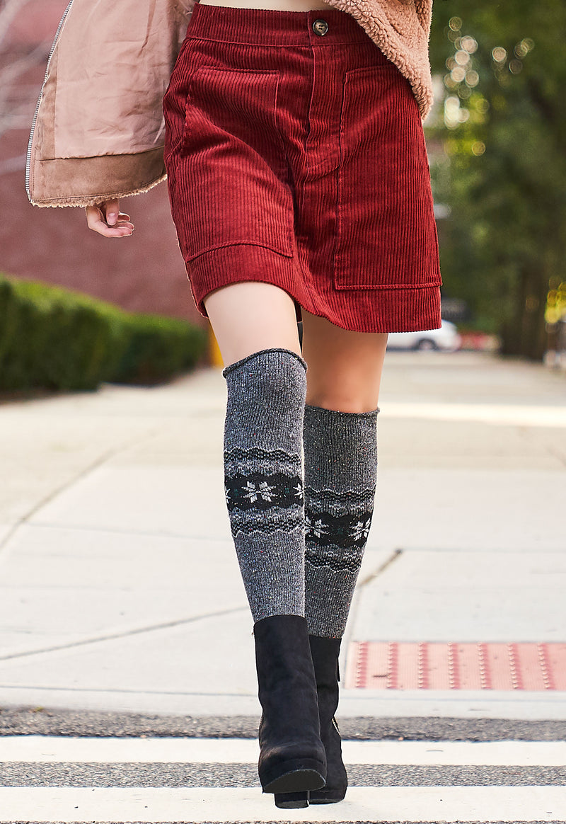 Nordic Sparks Over the Knee Socks