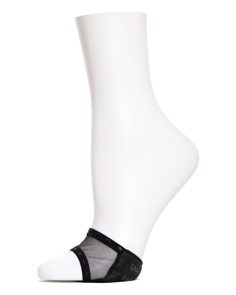 MeMoi Sheer Open Toe Cover | Women's Socks and Toe Covers | no show socks | Womens clothing | Black MP-005