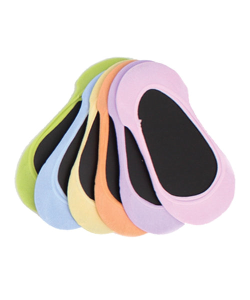 Micro Shoe Liners (6 Pairs Special) One Size & Plus Size - MeMoi - 1