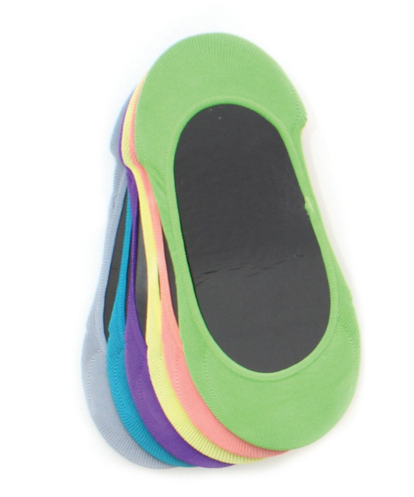 Micro Shoe Liners (6 Pairs Special) One Size & Plus Size - MeMoi - 8