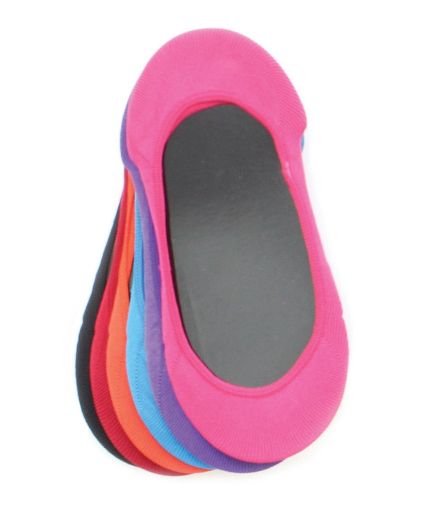 Micro Shoe Liners (6 Pairs Special) One Size & Plus Size - MeMoi - 11