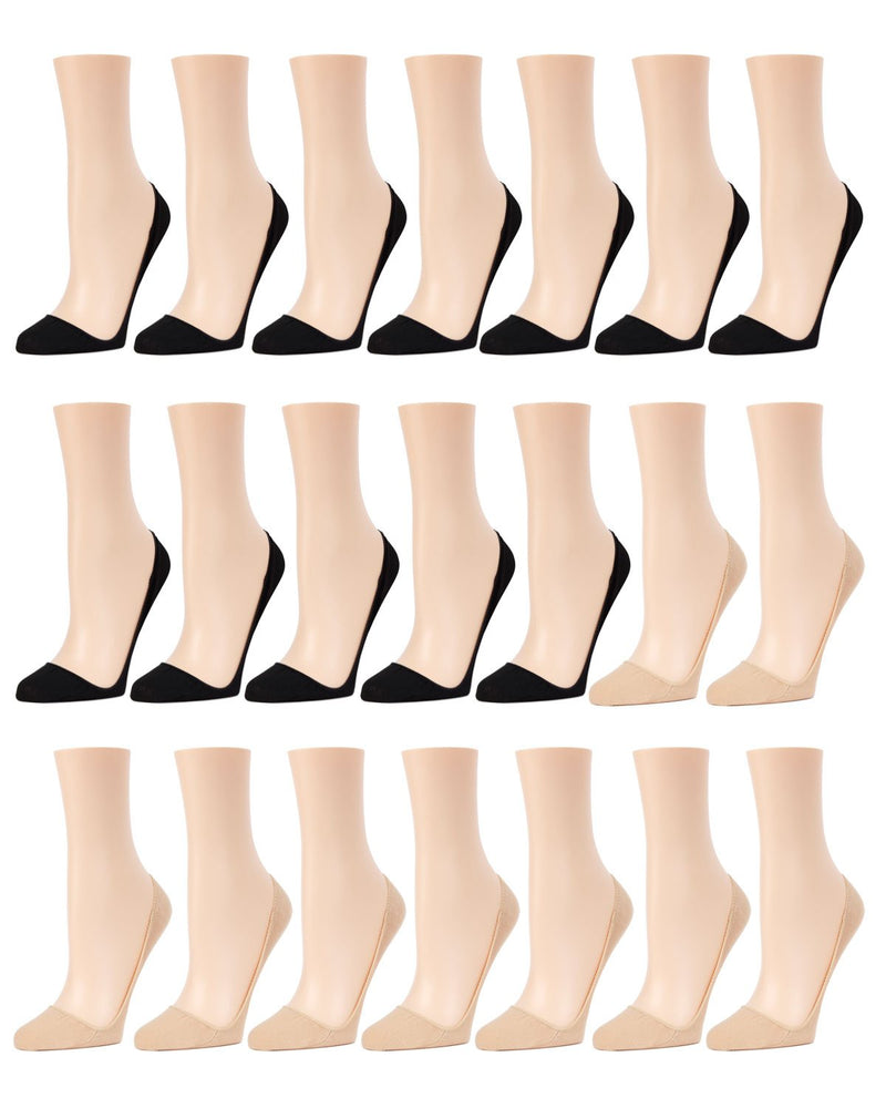 Closed Toe Stiletto Liner 21Pr Pack