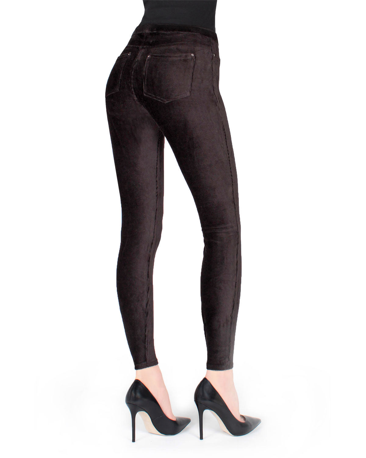 Premium Thin Ribbed Corduroy Leggings