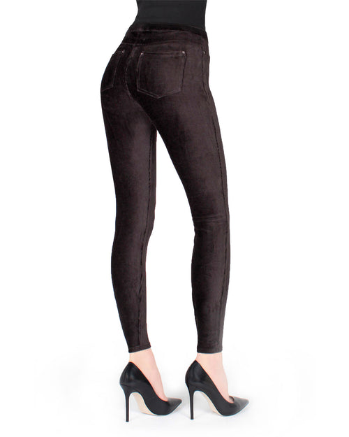Royal Plush Thin-Rib Corduroy Legging