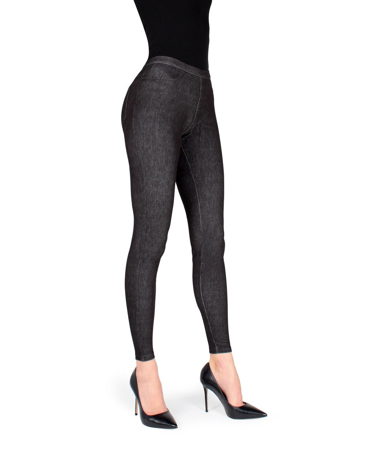 Delgada Denim Legging