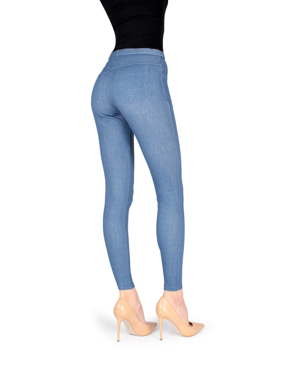Bustle Denim Legging