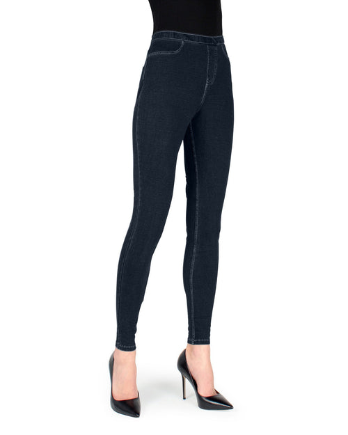 Real Denim Basic Jeggings Leggings W/ Back Pockets