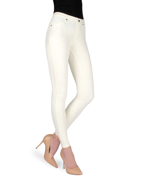 Chino All Colors Hidden Back Pocket Leggings