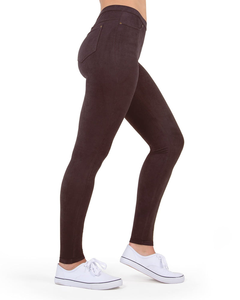 MeMoi Java Microsuede Legging | Women's Premium Fashion Leggings