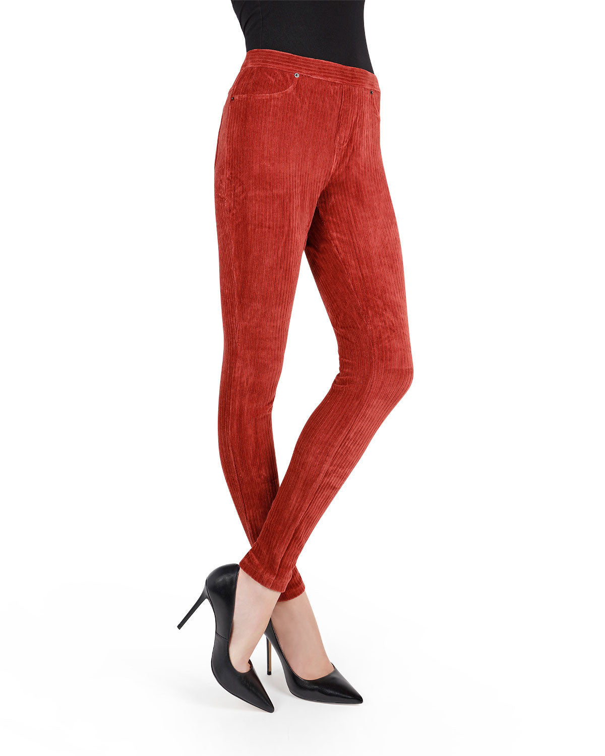 Premium Wide Rib Corduroy Leggings