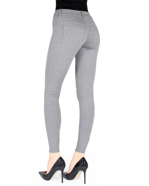 Women's Ponte Real Pockets Small & Plus Size Leggings
