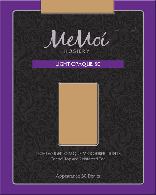 Light Opaque 30 Denier - MeMoi