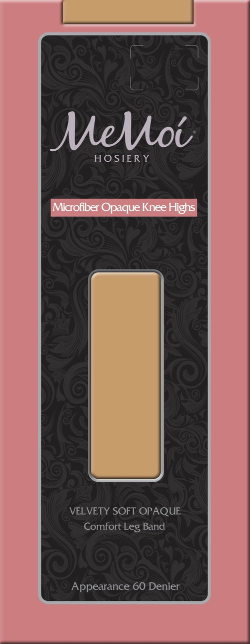 Microfiber Opaque Knee High - MeMoi