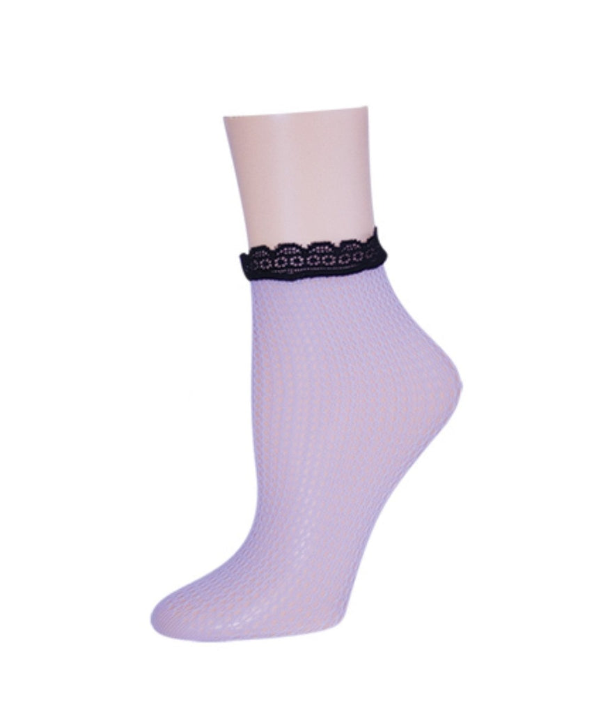 Trellis Dusty Women's Ankle Socks - MeMoi