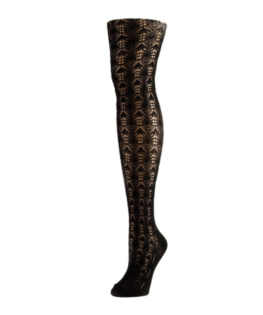 Inverted Crochet Tights - MeMoi - 1