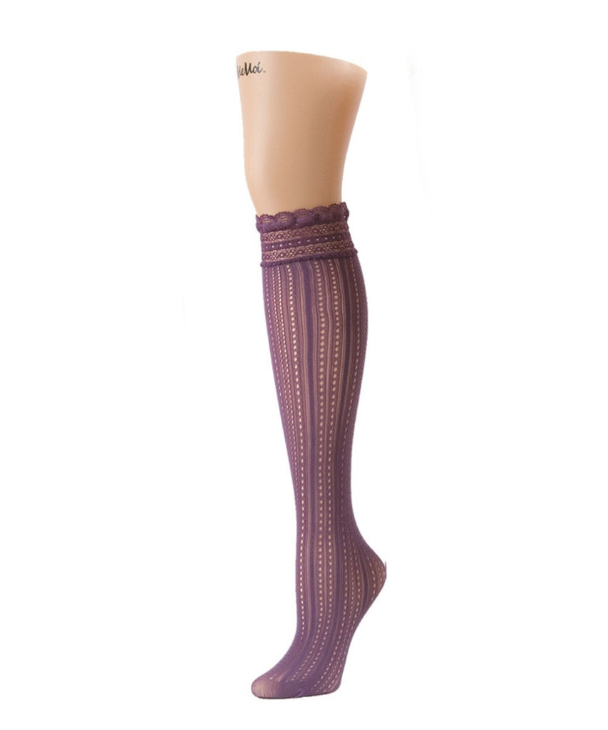 Inner Dot Knee High - MeMoi - 2