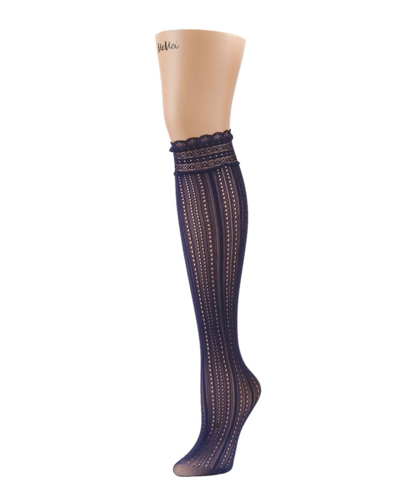 Inner Dot Knee High - MeMoi - 3