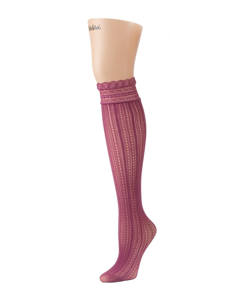 Inner Dot Knee High - MeMoi - 4