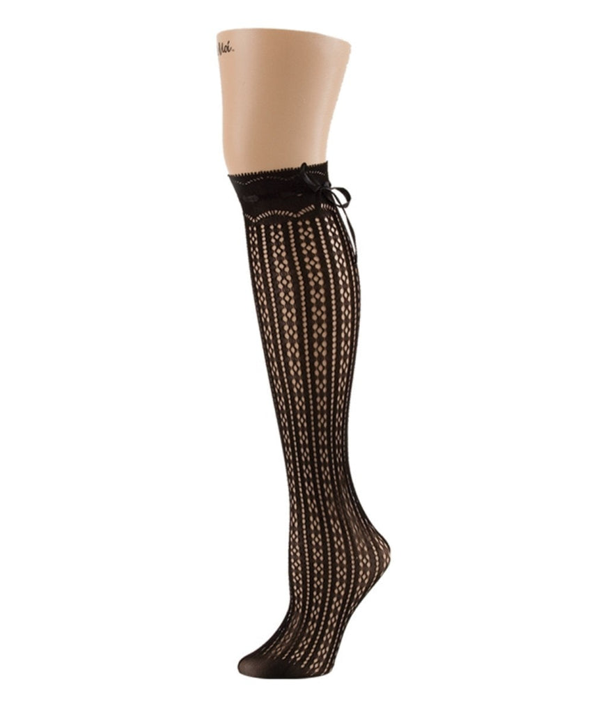 Bowtastic Knee High - MeMoi - 1