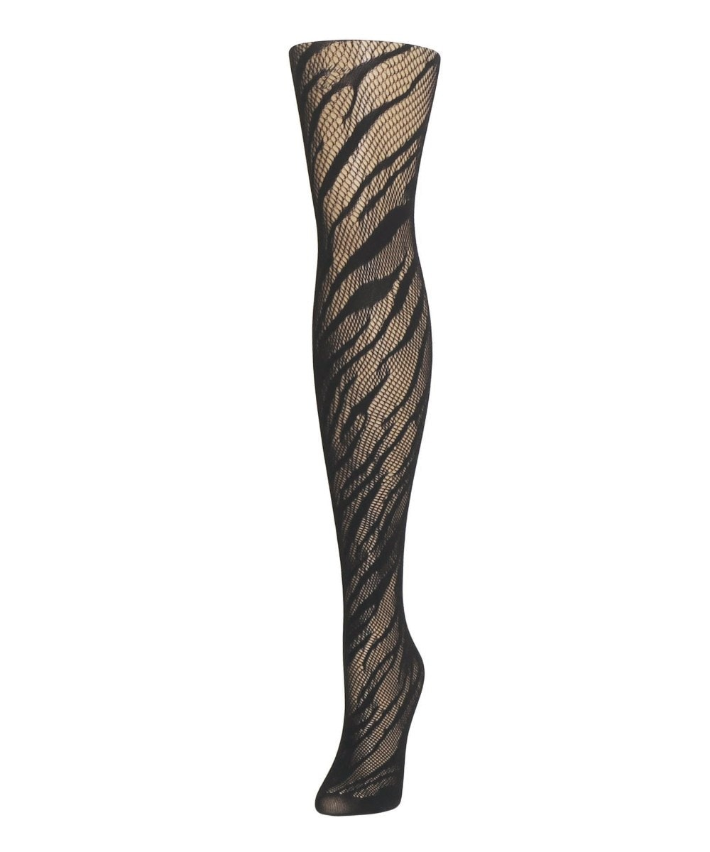 Zebra Net Tights - MeMoi - 1