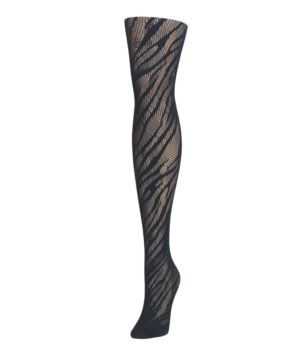 Zebra Net Tights - MeMoi - 2