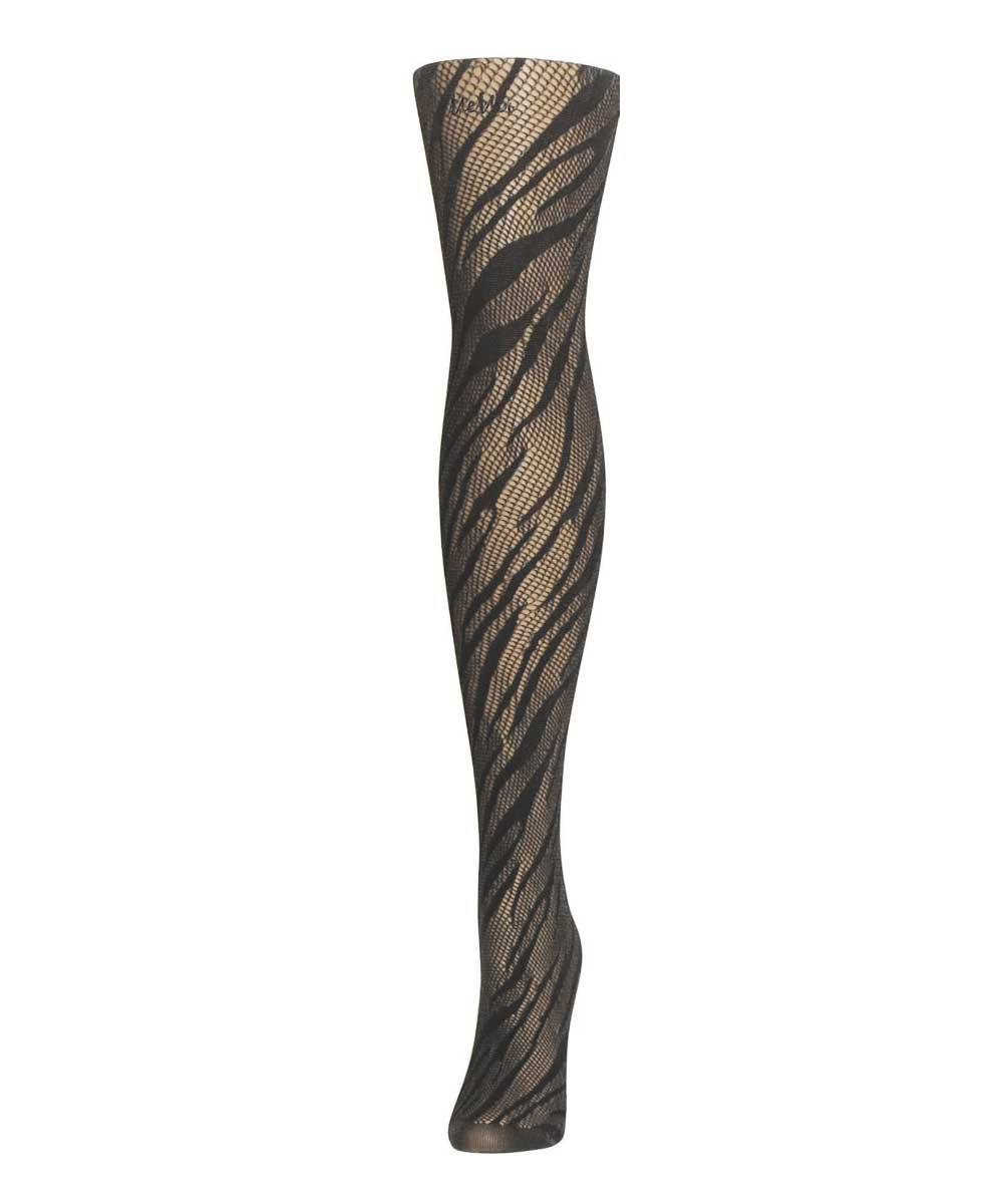 Zebra Net Tights - MeMoi - 3