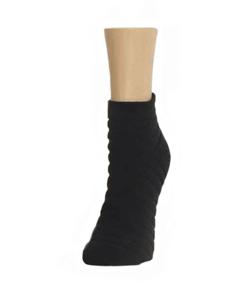 Terry Stripes Soft-Fit Cotton-Rich Low Cut Socks - MeMoi - 2
