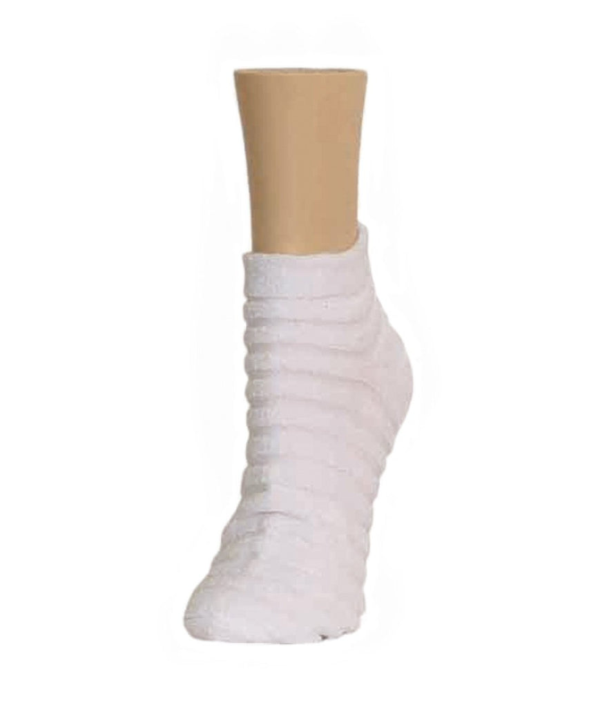 Terry Stripes Soft-Fit Cotton-Rich Low Cut Socks - MeMoi - 6