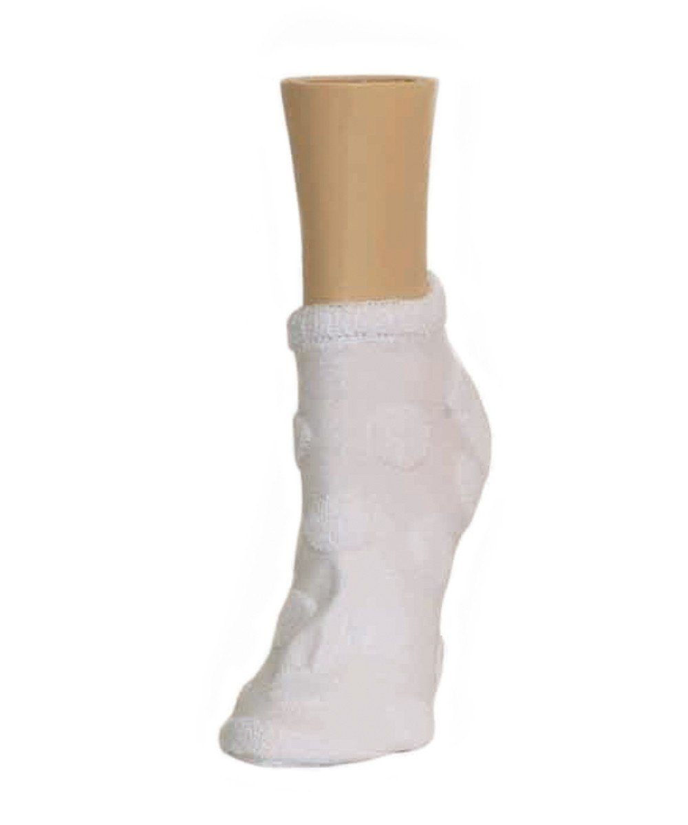 Terry Dot Soft-Fit Cotton-Rich Low Cut Socks - MeMoi - 6