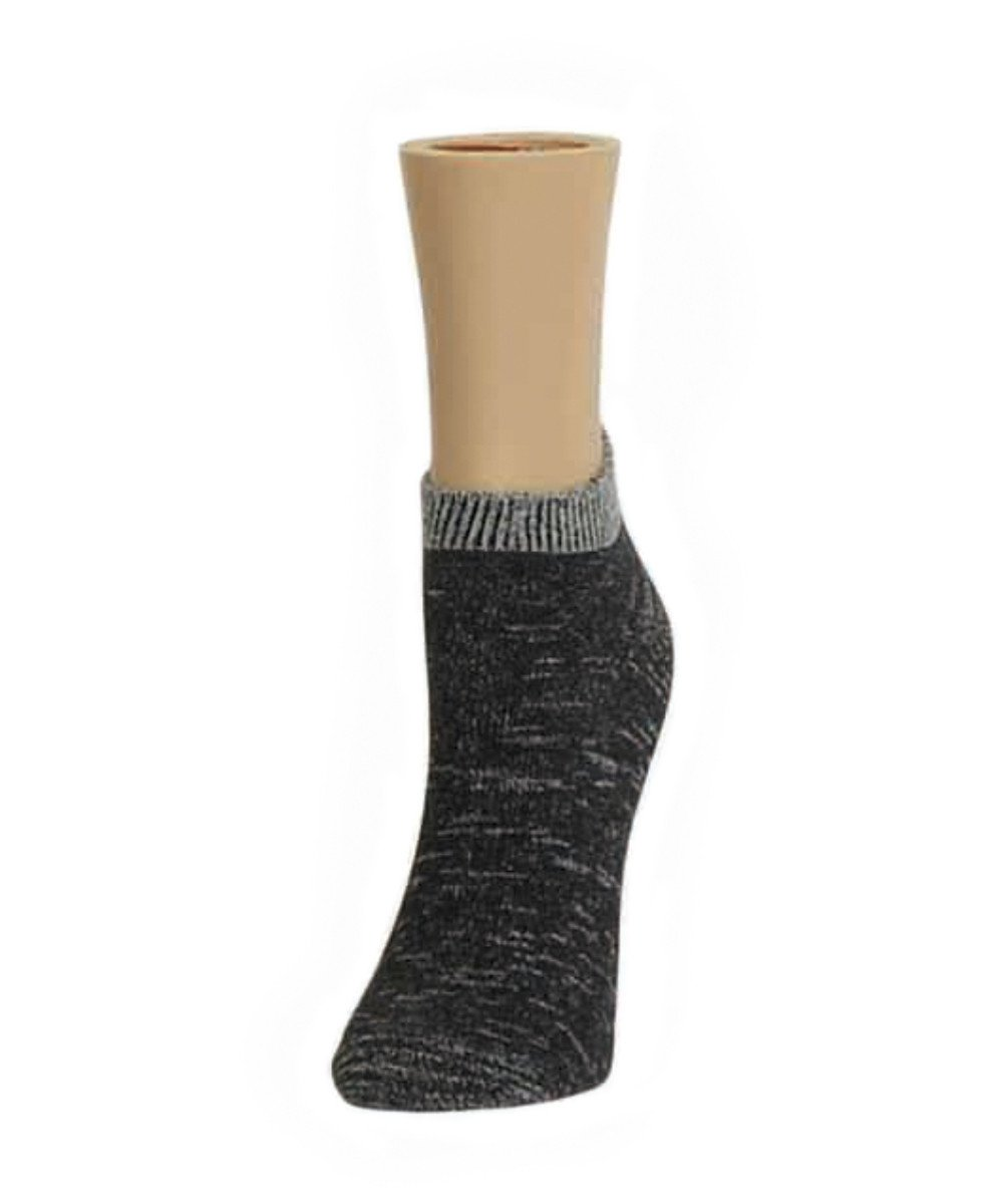 Gradient Shades Soft-Fit Cotton-Rich Low Cut Socks - MeMoi - 1