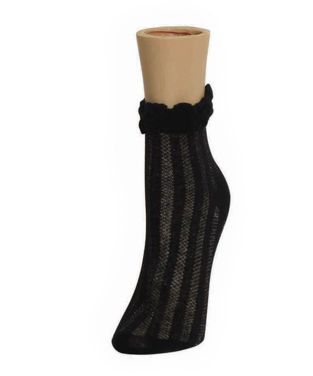 Thick-N-Sheer Women's Ankle Socks - MeMoi - 3