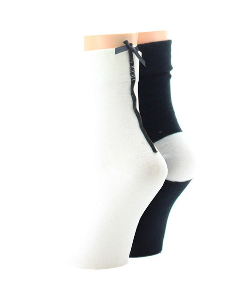 Basic Blend (2 Pair) Women's Ankle Socks - MeMoi - 2