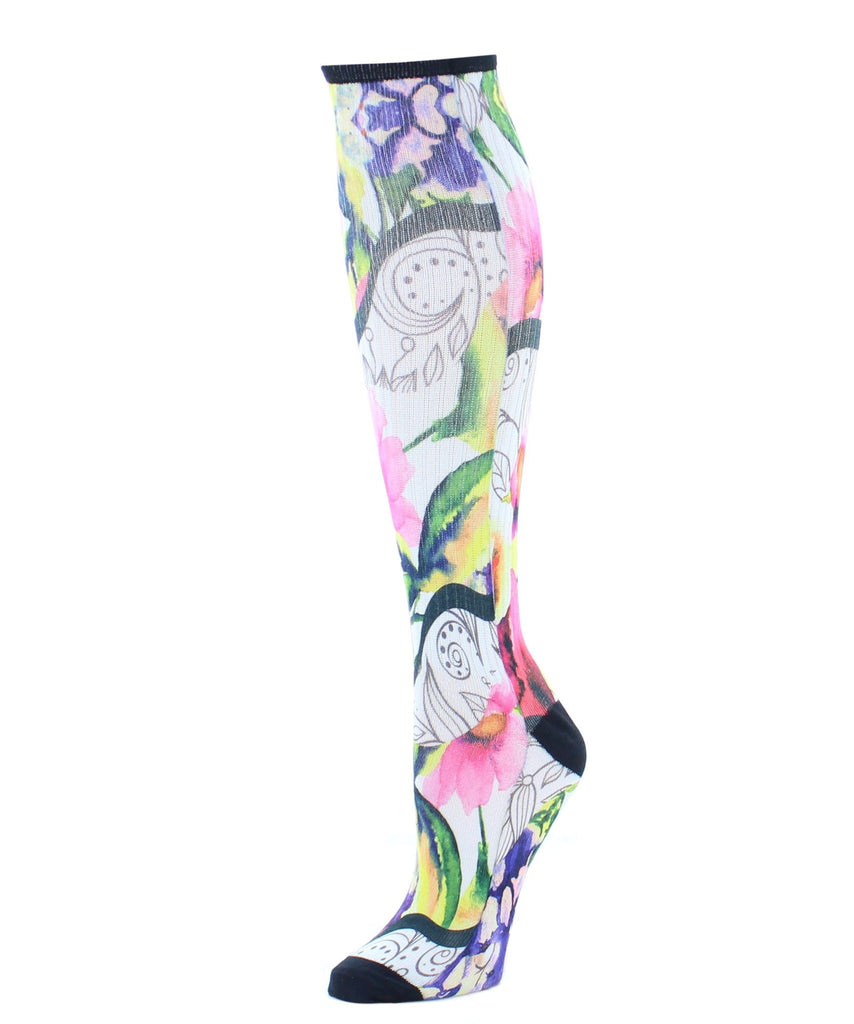 Floral Classics Knee High