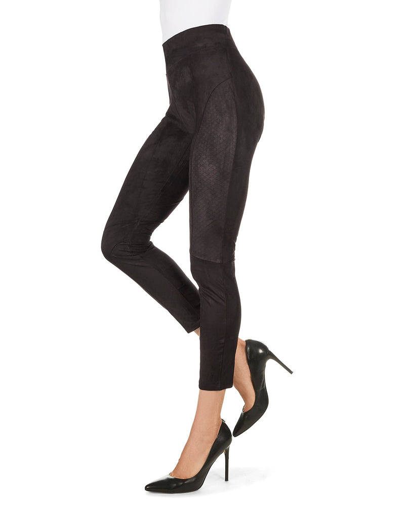 Vegan Suede Shaping Leggings