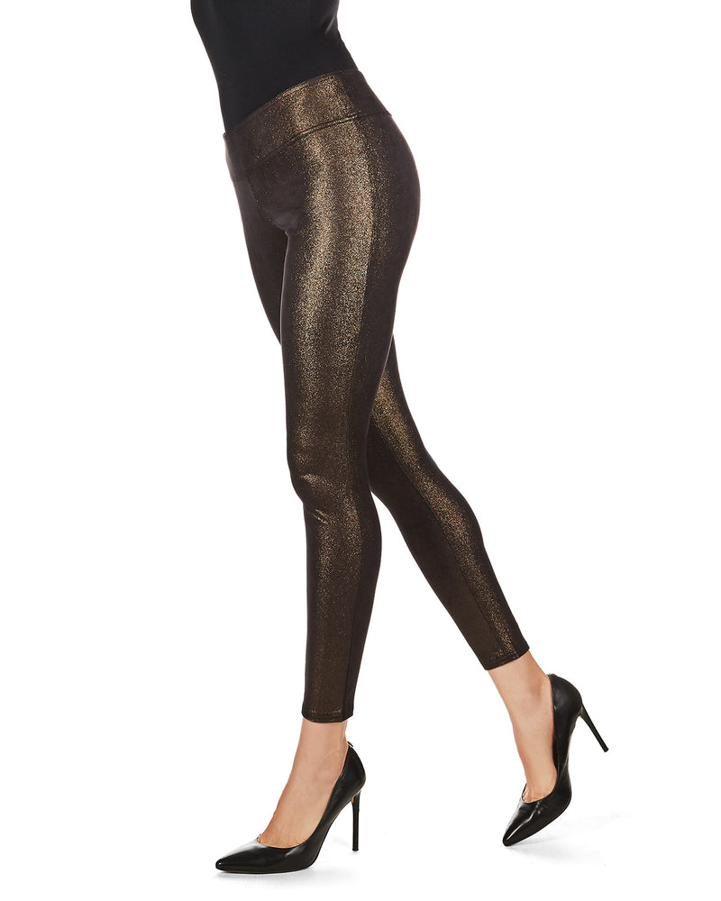 Metallic Shaping Leggings
