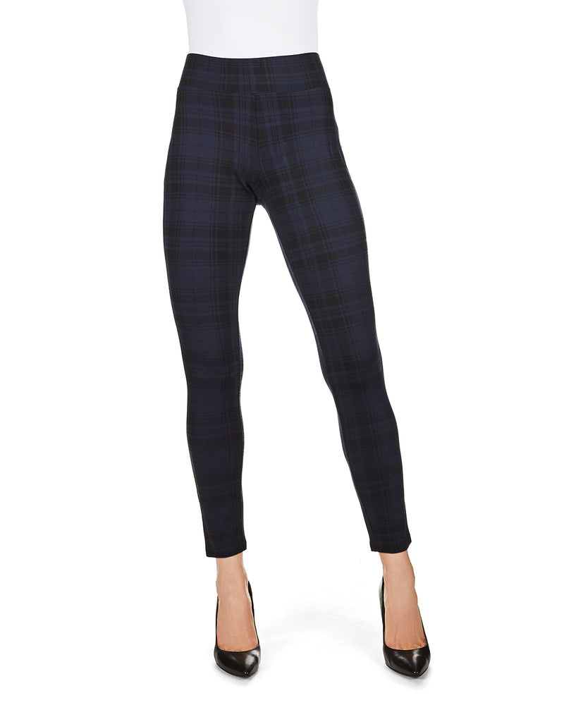 SlimMe Gaban Tartan Shaping Leggings
