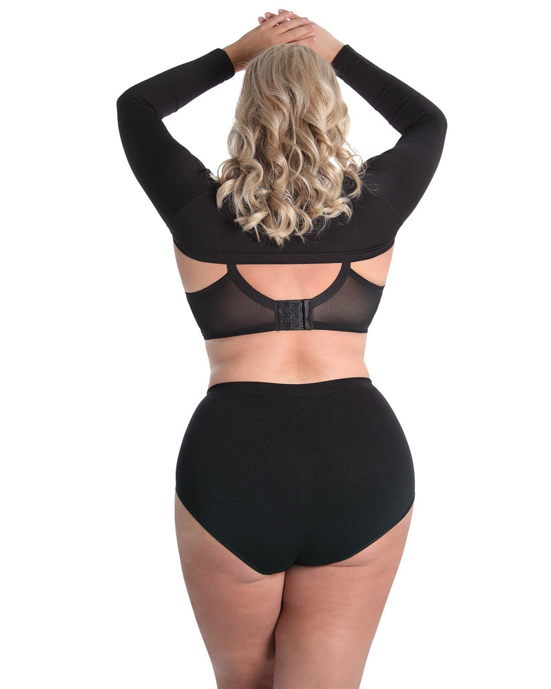 Shaping Panty | SlimMe by MeMoi Shapewear | Shaping Underwear - Shaping brief | MSM-100-Q-Blk-154