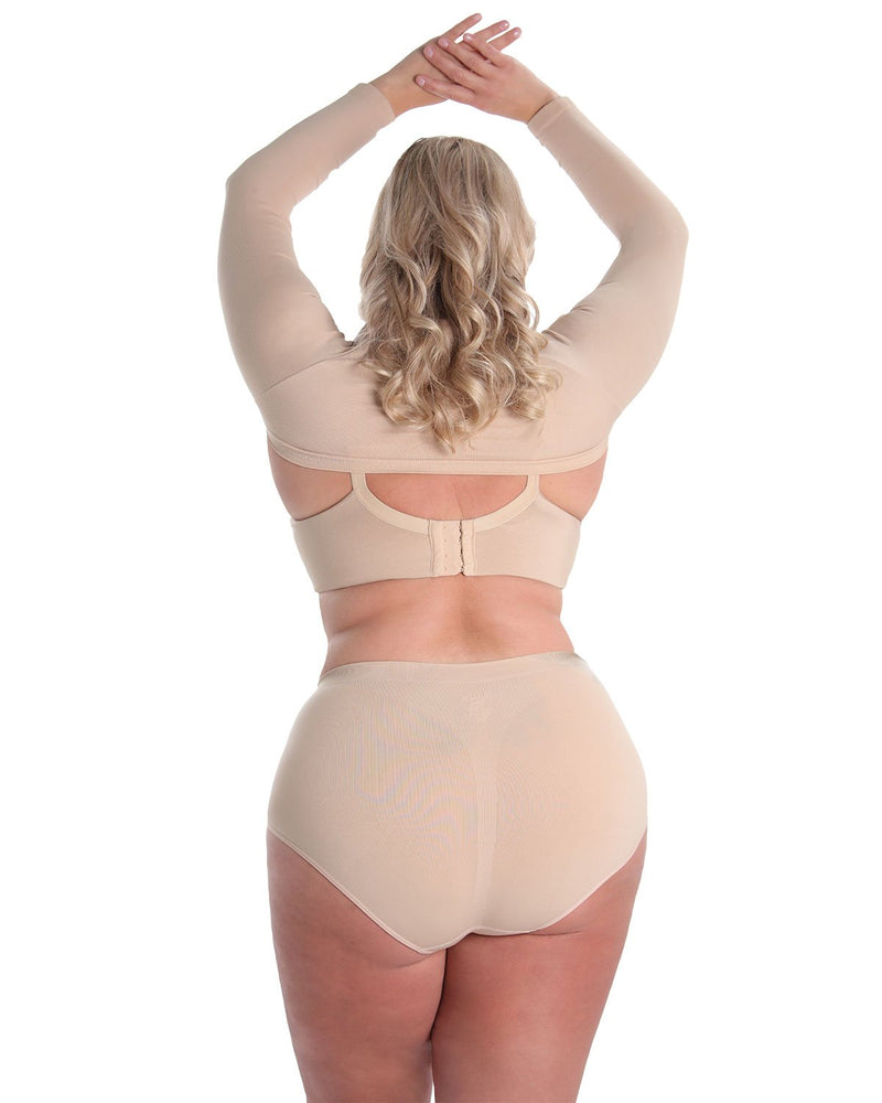Shaping Panty | SlimMe by MeMoi Shapewear | Shaping Underwear - Shaping brief | MSM-100-Q-Nde-154 back