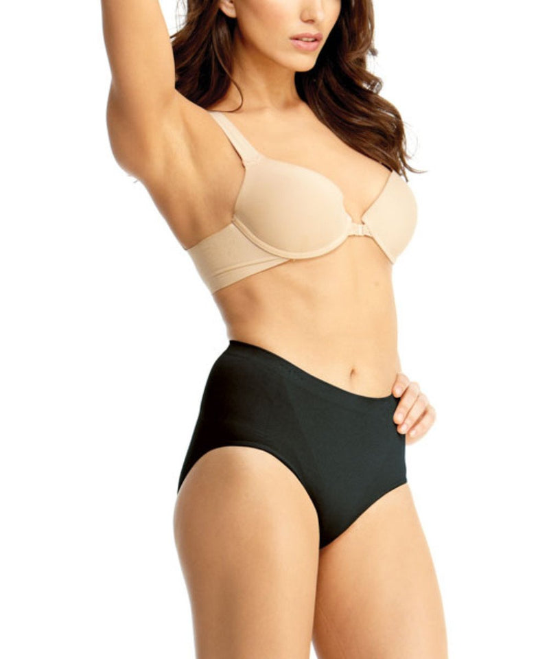 Shaping Panty | SlimMe by MeMoi Shapewear | Shaping Underwear - Shaping brief | MSM-100-Blk-150