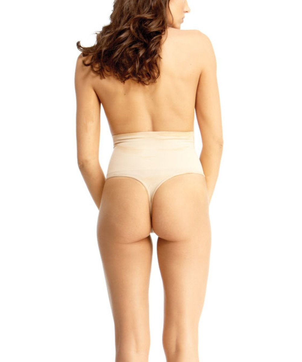 High-Waisted Thong Body Shaper - MeMoi - 2