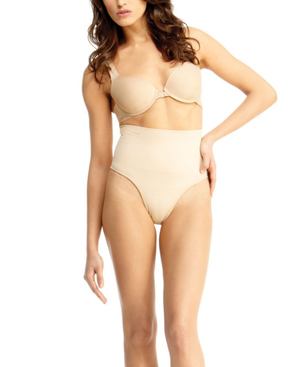 High-Waisted Thong Body Shaper - MeMoi - 3
